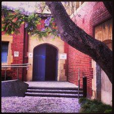 melb uni maths bld tree